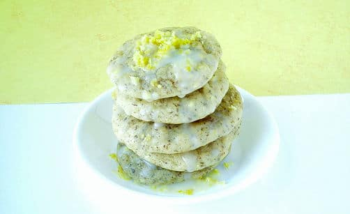 High protein, grain free lemon protein cookies with a twist of added spices.
