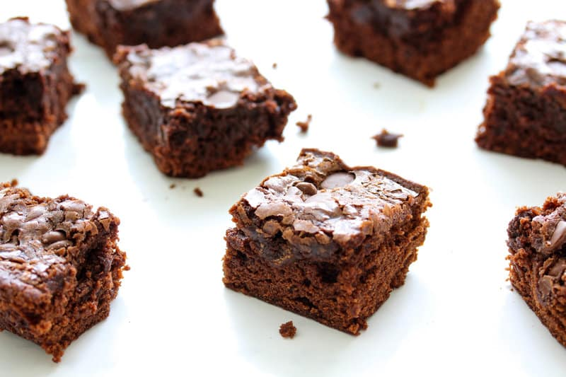 The Best Ooey Gooey Vegan Brownies