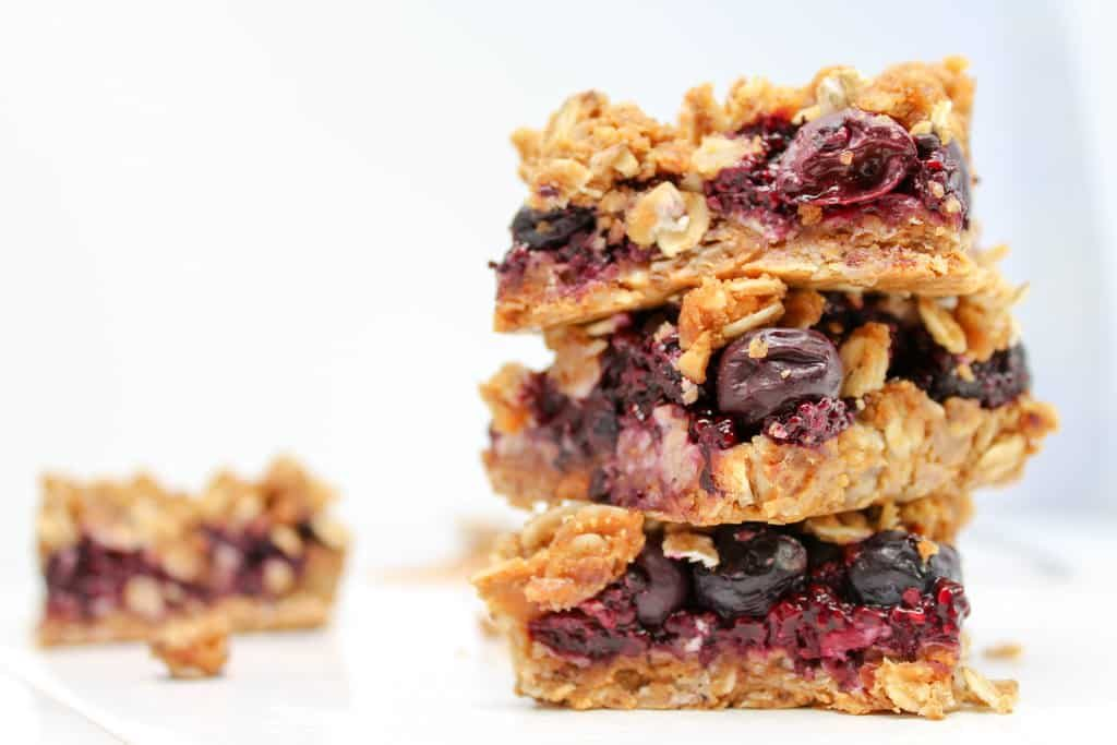 Peanut butter and jelly bars