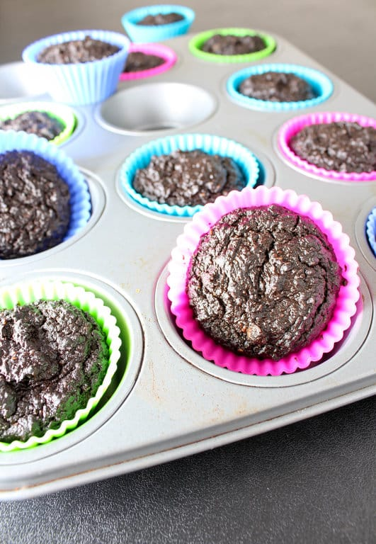 Healthy Chocolate Cupcakes with Chocolate Frosting