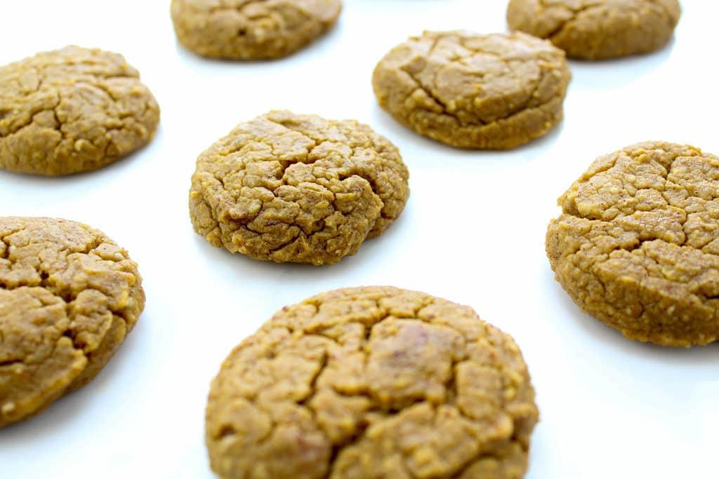 Protein Pumpkin Spice Cookies