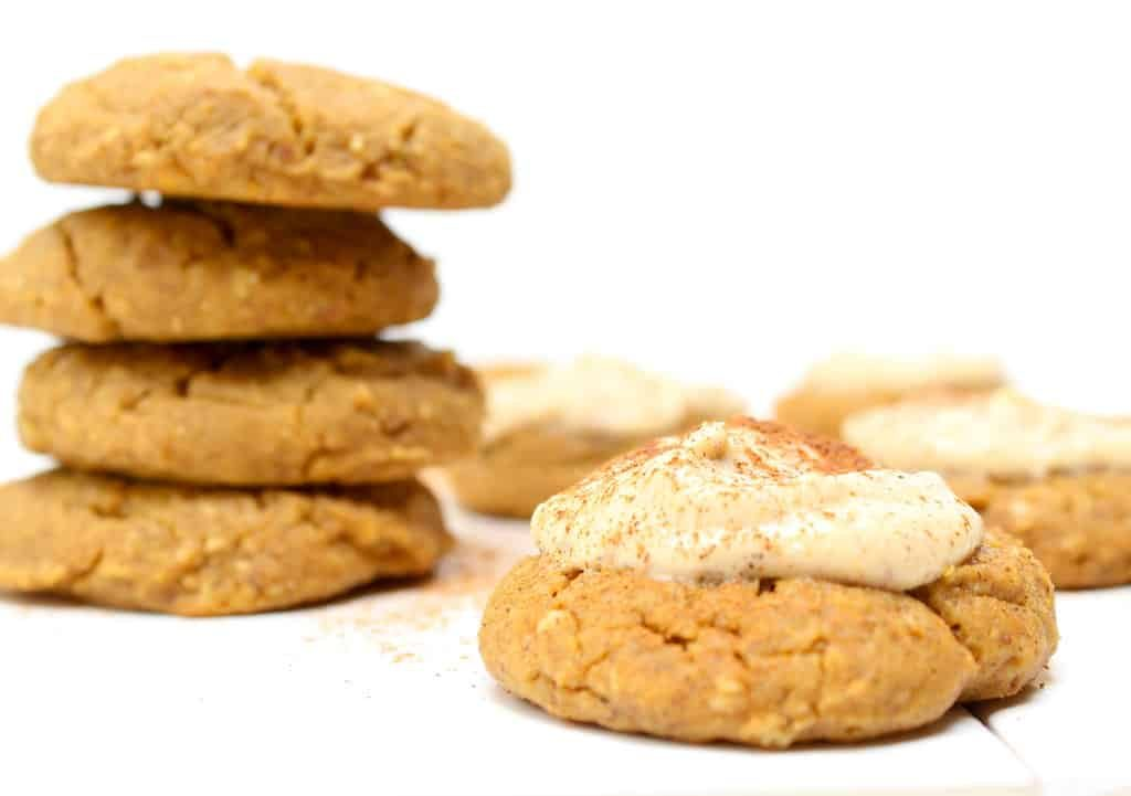 Stacked Protein Pumpkin Spice Cookies