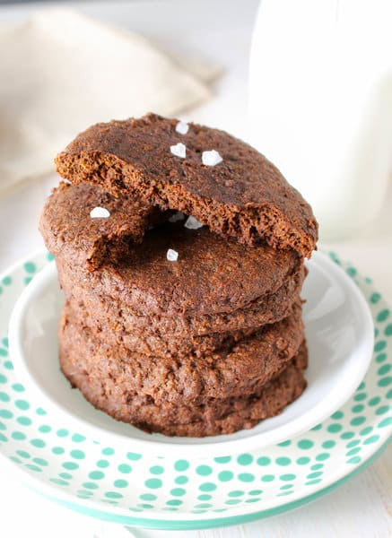 broken giant healthy molasses cookie