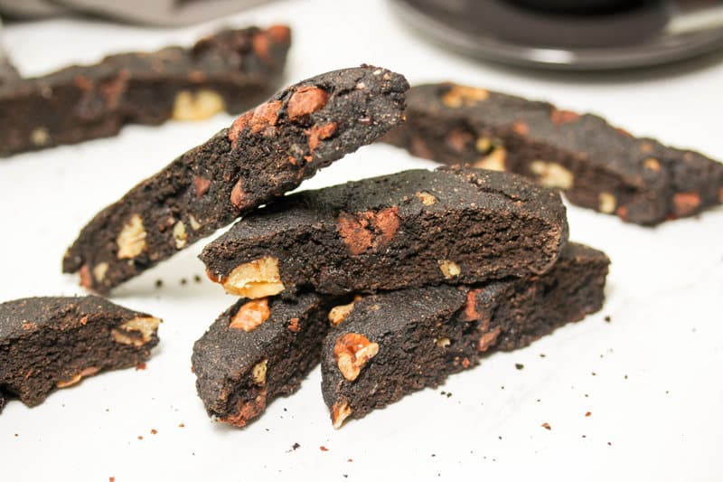 Dark Chocolate Biscotti
