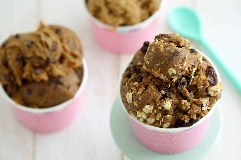 Eggless Edible Cookie Dough - vegan; gluten free; high protein; low FODMAP