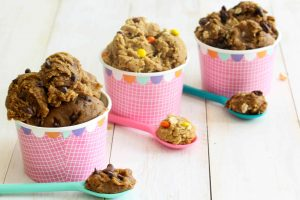 Eggless Edible Cookie Dough - vegan; gluten free; high protein; low FODMAP