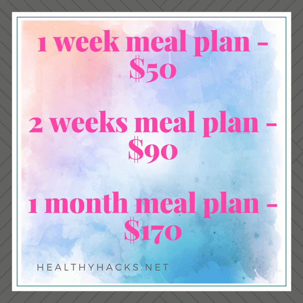 Get a Custom Meal Plan from a Registered Dietitian. Easy to follow, tailored to your dietary preferences and health goals.