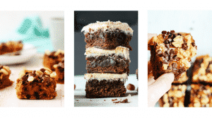 Healthy Hacks - healthy brownie and blondies recipes