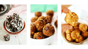 Healthy Hacks - healthy energy bites and balls recipes