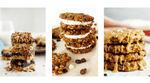 healthy hacks - healthy cookies and bars recipes