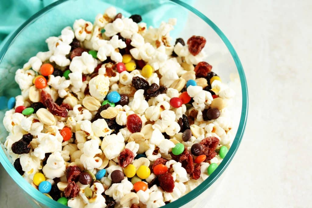 popcorn trail mix | Healthy Hacks