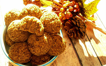 Healthy Vegan Pumpkin Pie Cookies