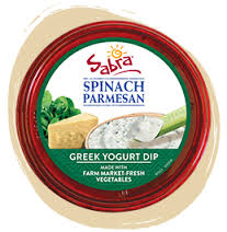 July Fav Foodie Finds - Sabra Spinach Parmesan Greek Yogurt Dip