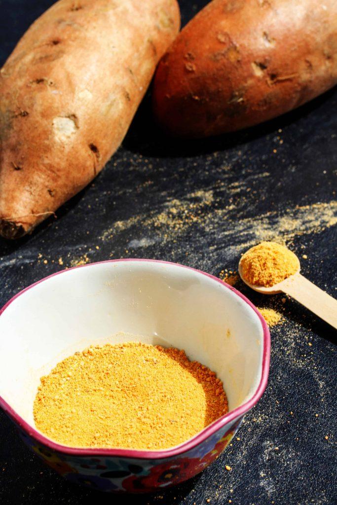How to make sweet potato flour
