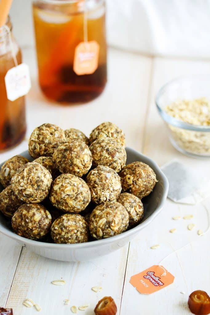 Image result for tea with energy balls